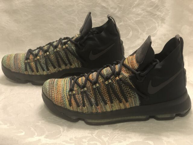on sale 38efd 4d5a4 New Sz 11 Men's Nike Zoom KD 9 Elite LMTD Multi-Color 909438-900 Kevin  Durant