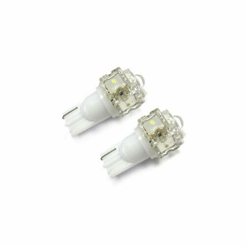 2x LED Bulbs 501 T10  White 5x  LED To Fit Number Plate Mazda MX-5 MK3
