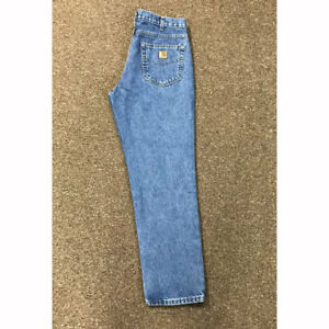 a6e61d04 B18 Carhartt Men's Traditional Fit Jeans- Stonewashed NEW   eBay