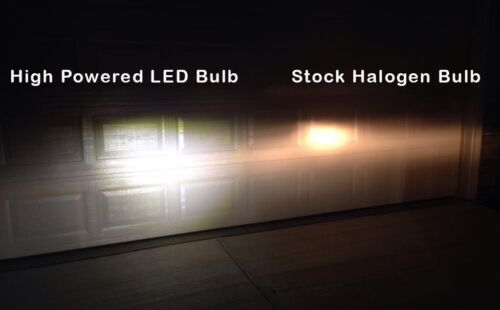 High Power HID LED Headlight H4 Bulbs Lights Harley Davidson Breakout 2013-2017