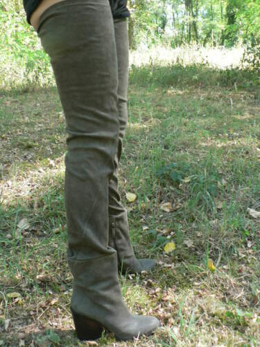 Stivali della 5 di coscia 39 Haider P Hackermann Or4rx8Tn