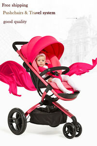 Luxury Baby Stroller Portable Lightweight Travel Strollers Easy Carry Pram