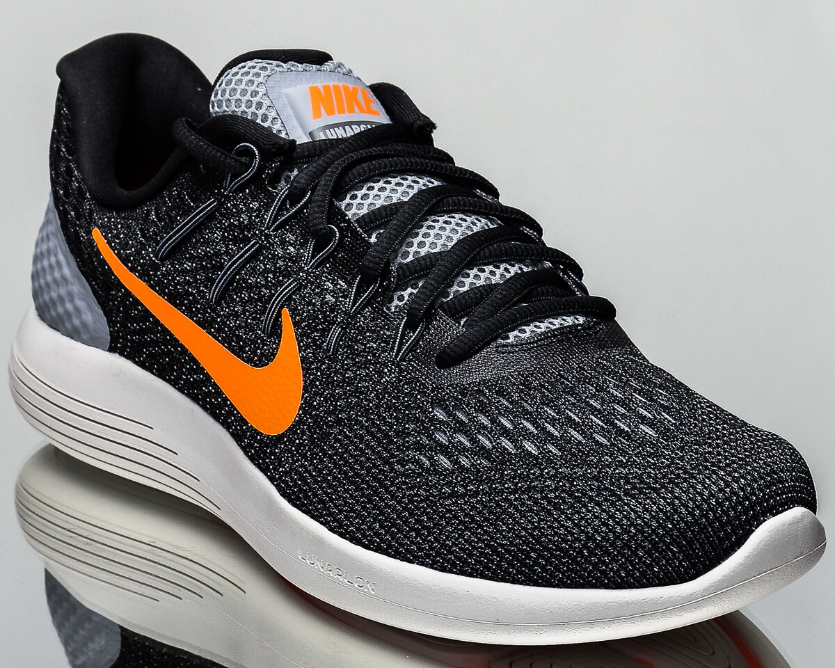 best-selling model of the brand Nike Lunarglide 8 VIII men running run shoes NEW wolf grey citrus 843725-009