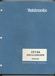 tektronix 2213a oscilloscope service manual loc tek 098 ebay rh ebay co uk tektronix 2215a service manual tektronix 2213 service manual pdf