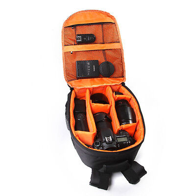 Newest Camera Backpack Bag Waterproof DSLR Case for Canon for Nikon for Sony OR