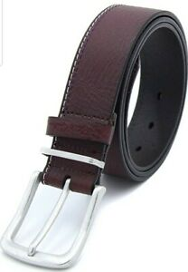 Robert Graham Mens Jorgat Leather Embroidered Casual Belt