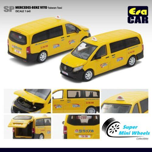 ERA Car 1//64 Mercedes-Benz Vito Taiwan Taxi Yellow