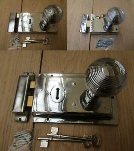 Rim Lock Door Knob Handle Sets Bathroom Bedroom Snib latch ...