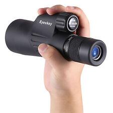 Top Waterproof Zoom 10-30x50 Monocular Mini Spotting Scope w/ Tripod High Power