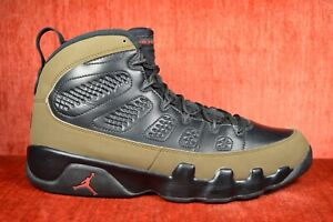 pretty nice bacc9 9bb28 Details about CLEAN 2012 NIKE AIR JORDAN 9 RETRO OLIVE Size 9.5 302370-020  Green Black