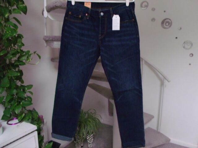 85d7848244e Levi's 501 Ct Women's Button Fly Cropped Jean Size measure 34X28. NWT tag  29x32