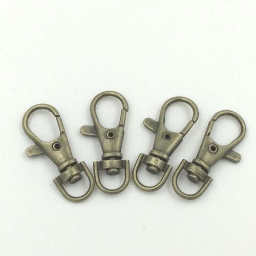 Bronze Black Silver Color Lanyard Hook Swivel Snap For Paracord Lobster Trigger