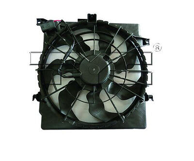 TYC 623110 Radiator And Condenser Fan Assembly 12 Month 12,000 Mile Warranty