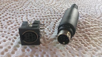 7 Pol Mini-diodenstecker Stecker + Einbaubuchse 1 Paar (2 Teile) 24908 Guter Geschmack