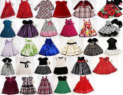NWT Girls Dress Short sleeve Party Holiday Xmas Wedding Birthday shrug NEW 4 5 6