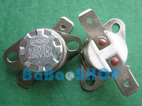 374°F Degree Celsius N.C 1pc KSD301 KSD302 190°C Ceramic Temperature Switch