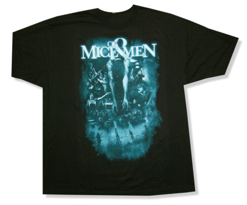 Of Mice /& Men Live Memories Black T Shirt New Official NWT Band