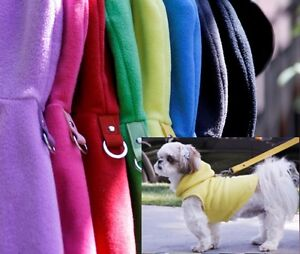 Gooby-Dog-Hoodie-Harness-Small-amp-Med-Breeds-only-Fleece-Pullover-Hoody