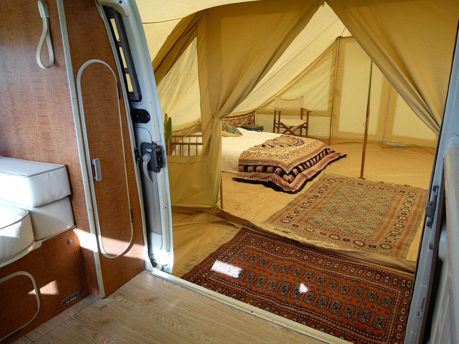 VW T4 Campervan - DubPod Drive Away Canvas Awning by Bell ...