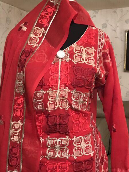 /pakistano Indiano Designer Giacca E Cravatta. B/sana Maria Safina, Khaadi, Gul Ahmed Ecc.