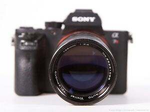 VIVITAR 135mm f/2.8 Manual Focus Lens (M42) +Sony E-Mount Adapter a6000 a7 NEX