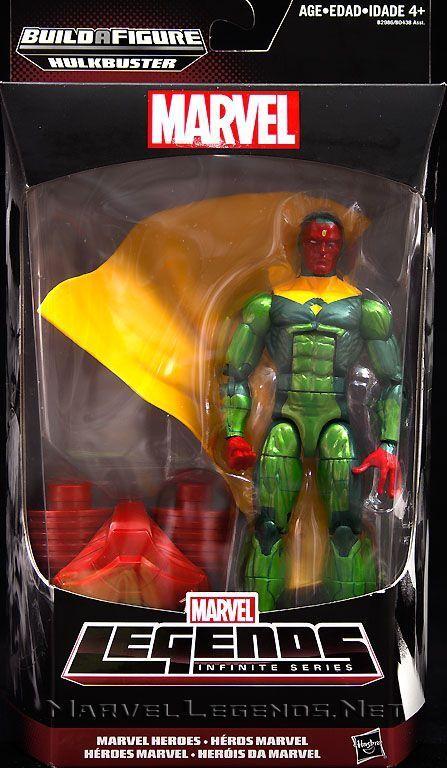Marvel Legends Vision Hulkbuster Wave New Sealed
