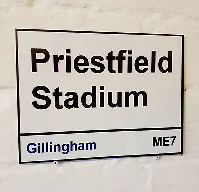 Burnley fc Turf Moor metal Street Sign 2 Sizes Available football ground