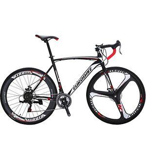 XC550-Road-Bike-21-Speed-Racing-Bicyle-Mens-bikes-Disc-Brakes-Sports-cycling