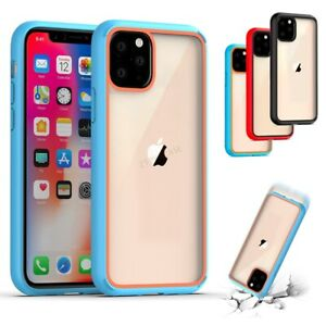 For-iPhone-11-pro-Max-Rubber-Slim-Bumper-Case-Protective-Heavy-Duty-Armor-Cover