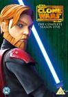 Star Wars - Clone Wars - Series 5 - Complete (DVD, 2013, 4-Disc Set)
