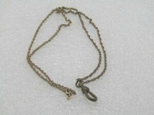 Vintage-24-034-Watch-Fob-Necklace-12kt-G-F-signed-A-amp-Z