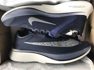d335ab6b6943 DS Nike Vaporfly 4% OBSIDIAN METALLIC SILVER-NEUTRAL GREY Size 13 ...