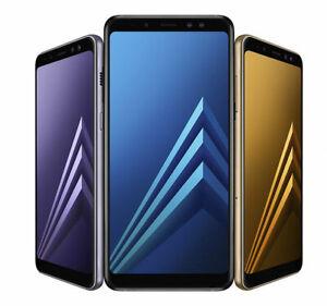 Samsung-Galaxy-A8-A8-2018-32-Go-Debloque-Smartphone-classe
