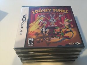 LOONEY-TUNES-CARTOON-CONDUCTOR-Nintendo-DS-SUPER-RARE-NEW
