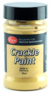 Viva-Decor-Crackle-Paint-Varnish-Cream-Gold-3D-Crackle-Effects