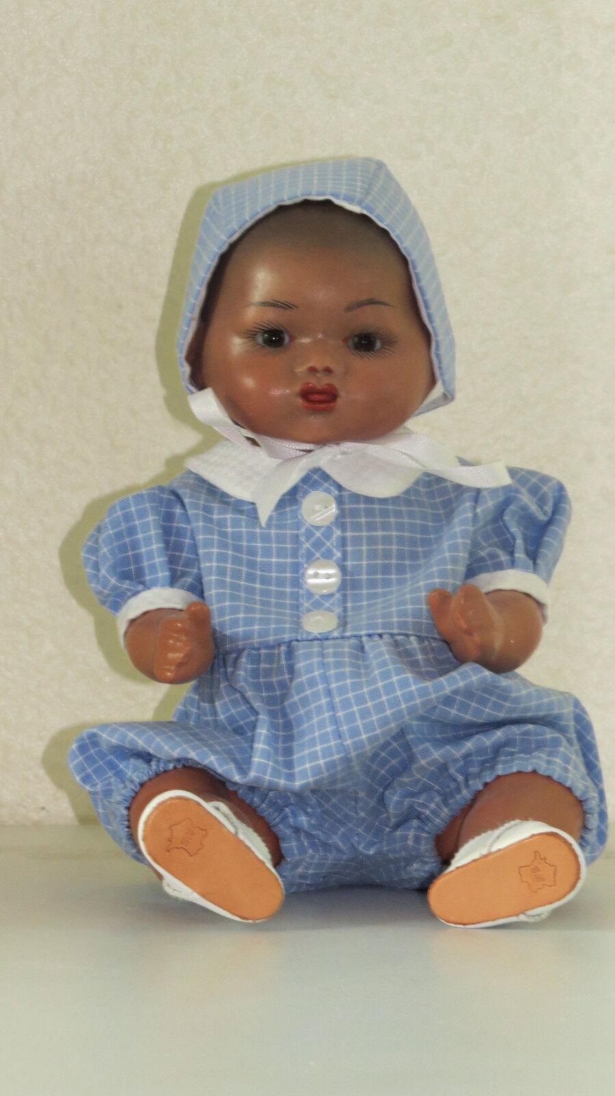 Bambino Métis B  Blauette brother  Poupée ancienne  reproduction antique doll