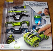 Delux S2 Muscle Modarri Ultimate Toy Car Design, Build, Drive Finger Powered