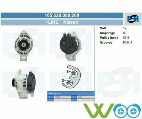 ALTERNATORE Generator NISSAN PRIMERA Traveller 1.6 16v