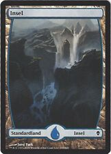 TCG MtG 169 Magic the Gathering Zendikar Full Art Land  Island/Insel