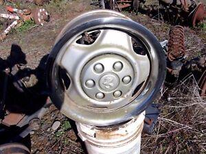 "NEW 1991-1993 DODGE DAKOTA 15/"" Wheel Black Center Hub Cap"