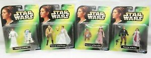Star Wars Princess Leia Collection Lot of 4 R2-D2 Han Solo Luke Wicket the Ewok