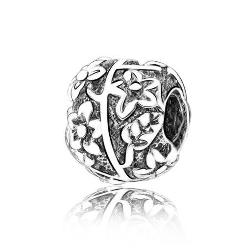 Bracelet Argent Charms fit European Beads 925 Fashion Mignon Bijoux Lots Chaîne