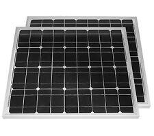 Solarset 100 Watt+12V Laderegler 10A+2 Dioden mono Solarmodul Photovoltaik 100 W