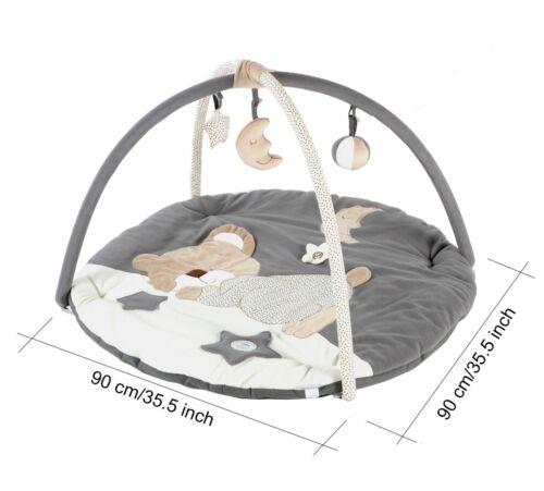 Moon and Star MiniDream Baby Gym Playmat Activity Mat Tummy Time Floor Mat