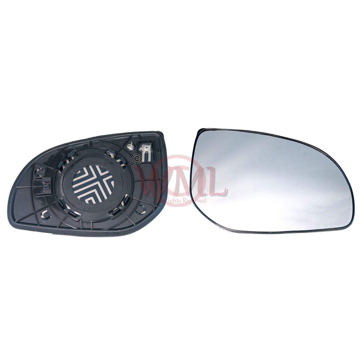 Right hand driver side for Renault Megane 2008-2015 wing mirror glass
