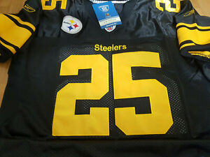 Details about Brand New! Black Pittsburgh Steelers Ryan Clark #25 classic all sewn Jersey Mens