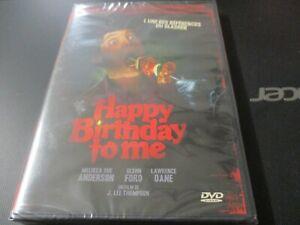 "DVD NEUF ""HAPPY BIRTHDAY TO ME"" Melissa SUE ANDERSON, Glenn FORD - horreur"