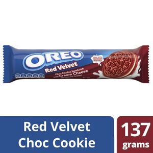 Oreo Creme Biscuits Red Velvet 133g