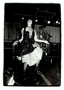 1981 Press Photo Singer Siouxsie Sioux performing in New Orleans