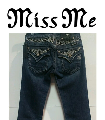 Style Miss Me Enchanted Butterfly Boot Cut Jeans JP5002-6
